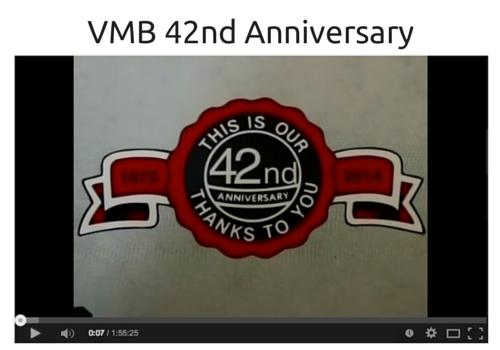 Vintage Motor Bikes 42nd Anniversary