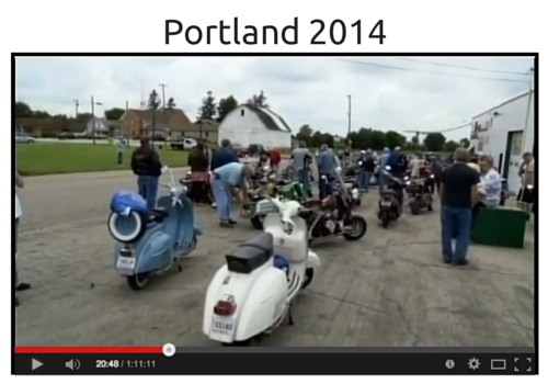 Vintage Motor Bikes Portland 2014